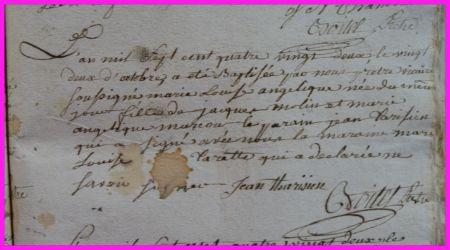 MOLIN Marie-Louise Angélique née 22.10.1782