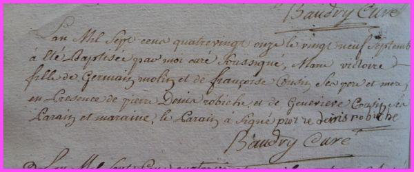MOLIN Marie-Victoire née 29.09.1791