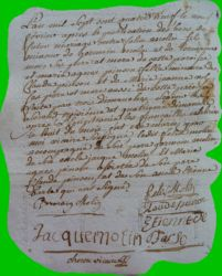 MOLIN et PINSON le 09.02.1789
