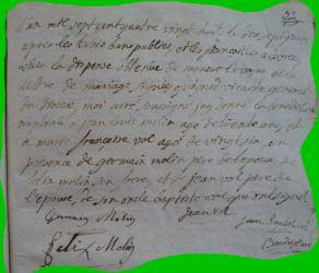 MOLIN et VOL le 17.06.1788
