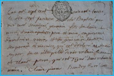 MOREL Germain né 17.01.1773