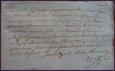 MUSSART Antoine 1 an dcd 08.06.1783