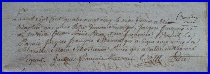PIERRE Jacques François né 06.02.1785