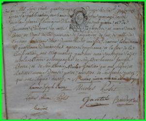 PIERRE et POTET le 06.02.1792