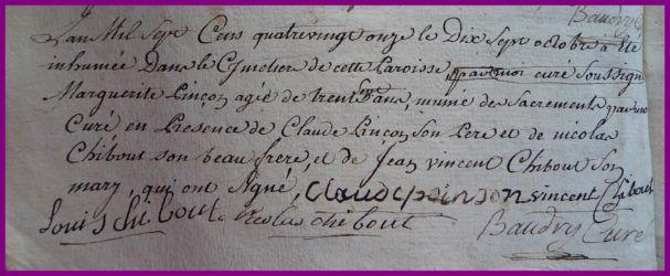 PINSON Marguerite 36 ans dcd 17.10.1791