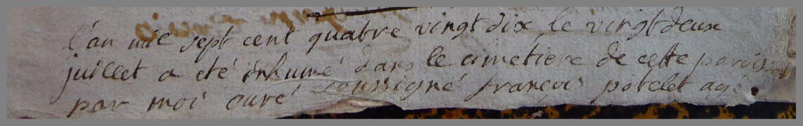 POTELET François dcd 22.07.1790 N°1