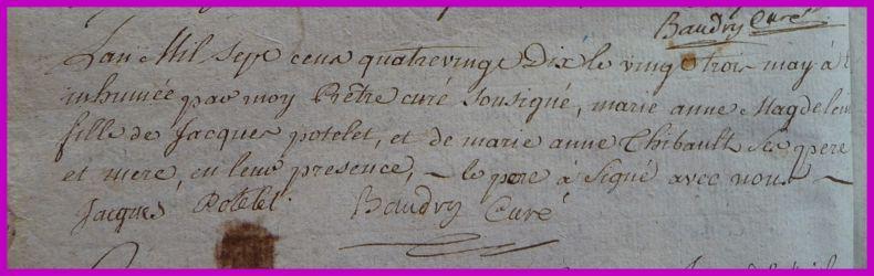 POTELET Marie-Anne Magdelaine dcd 23.05.1790