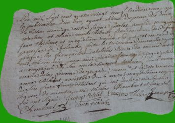 POTELET et THIBAULT le 12.05.1789