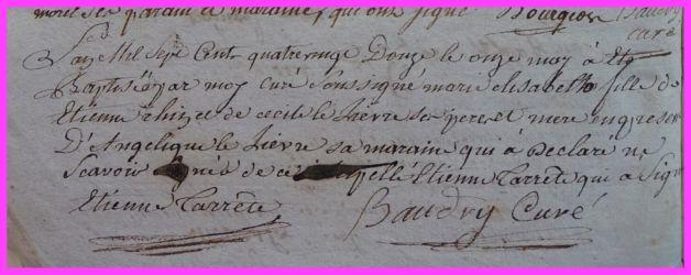 RAIN Elisabeth née 11.05.1792