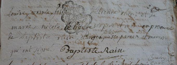 RAIN Louise Ursule née 18.02.1787