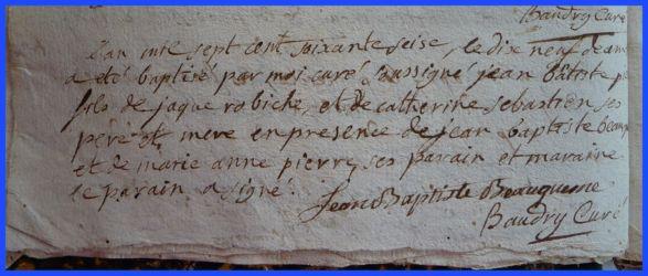 ROBICHE Jean-Baptiste né 19.12.1776
