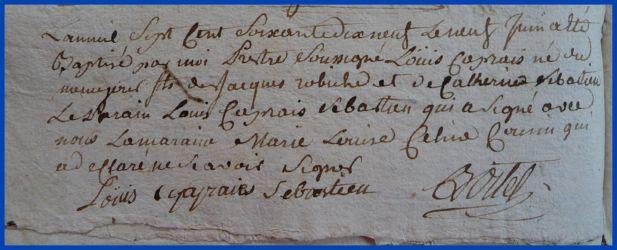 ROBICHE Louis Caprais né 09.06.1779