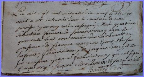 SEBASTIEN Marie-Geneviève 48 ans dcd 17.08.1779