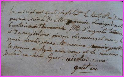 TARISIEN Thérèse Ursule né 31.12.1787
