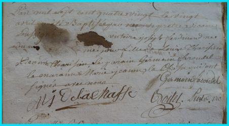 TARISIEN Victoire Joseph Ferdinand né 20.04.1780