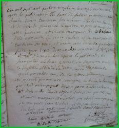 TARISIEN et DUBOIS le 27.11.1781