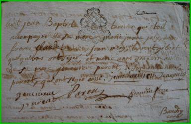 TARISIEN et GRANDIN le 16.01.1786 N°2