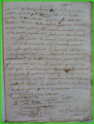 TARISIEN et PINSON le 13.01.1783