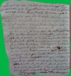 TARISIEN et TARISIEN le 27.11.1775