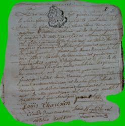 TARISIEN et VOL le 16.02.1789