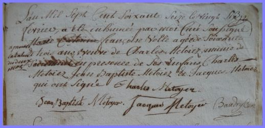 VOL Françoise 1714-dcd 26.02.1776