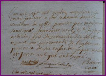 VOL Françoise dcd 13.01.1786