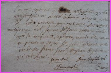 VOL Marie-Jeanne dcd 20.01.1785